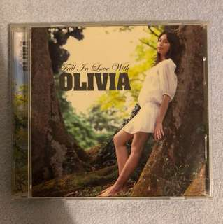 Olivia - Fall In Love With CD Album