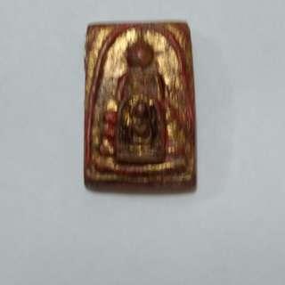 Thai Amulet Phra Somdej (with Sookgo) Wat Phra Keaw  BE 2411   int buyer only