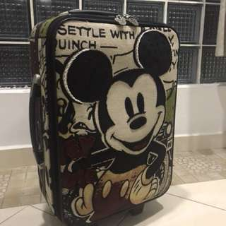 Mickey Mouse luggage 20""