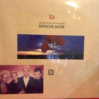 Vinyl Record Depeche Mode Music for the Masses