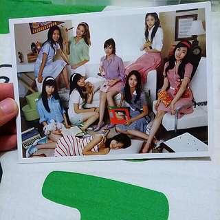 少女時代明信片