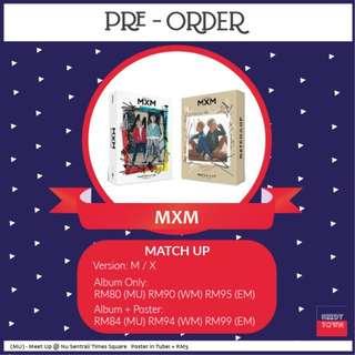 (PRE-ORDER) MXM - MATCH UP