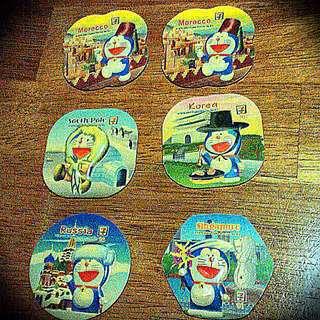7-11 Doremon Fridge Magnets