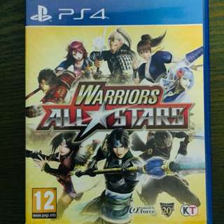 Warriors All Stars (PS4)