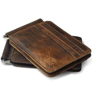 Brown Cardinal Leather Wallet
