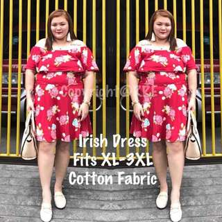 Irish plus size dress
