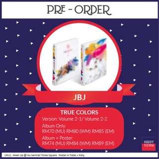 (PRE-ORDER) JBJ - TRUE COLORS