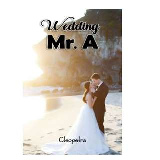 Ebook Wedding Mr. A - Cleopetra