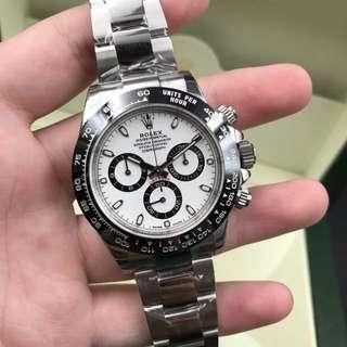 Rolex/劳力士 迪通拿 116500 热门白面钢迪