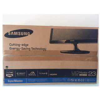 "Samsung SA350 23"" Full HD LED Monitor"