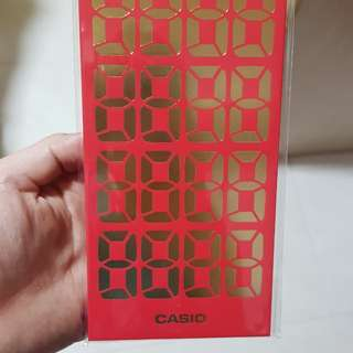 Casio - red packets 2018