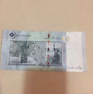 RM50 (KZ2842008) 28/4/2008