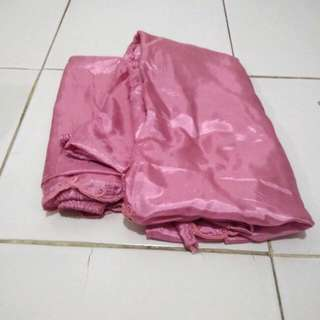 Mukena Parasut Pink