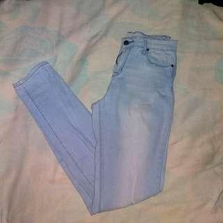 FOREVER 21 Semi HW Jeans