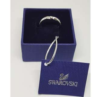 B'NEW SWAROVSKI CURLY RING
