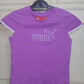Purple Puma Tee