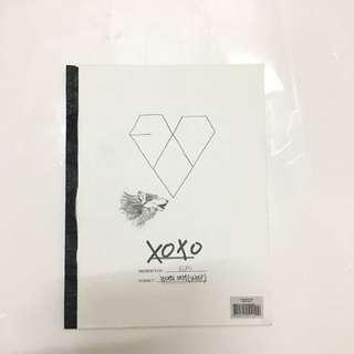 EXO OFFICIAL XOXO ALBUM KOREAN VER