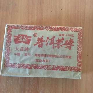 🚚 大益普洱茶磚 250g