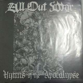 "Vinyl 7"" Record: All Out War ‎– Hymns Of The Apocalypse"