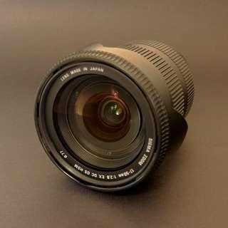 SIGMA 17-50mm F2.8 EX DC HSM /CANON/ 免運費