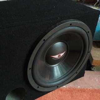 WOOFER, POWER AMP & EQUALIZER 1500 WATT