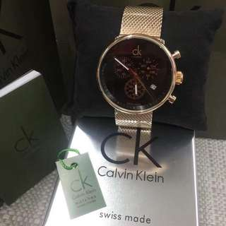 Calvin Klein Watch Mesh strap