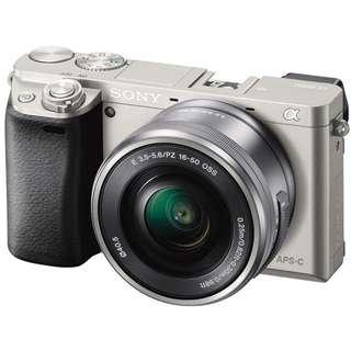 Sony A6000 w kit lens