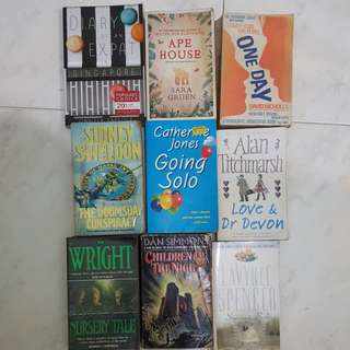 All 9 books for $12