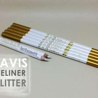 New Eyeliner Putih Glossy Harga Satuan Brand Davis