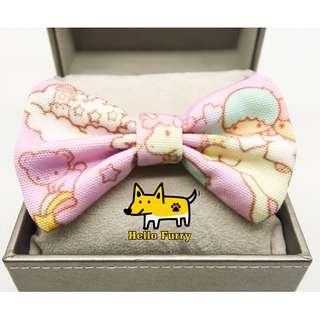 Little twin stars , Handmade , Dog Cat Bowties Bow tie , Clothing , Accessories , Pet Collars , Bandana, Sanrio
