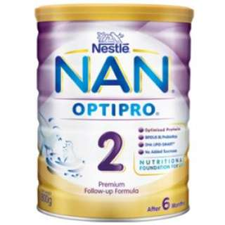 SG Source Brand New Nestle Nan Optipro 2, 800G