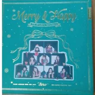 TWICE Merry & Happy Album Merry Version