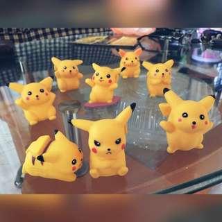 Pikachu Collection  (8 Pieces ) Last