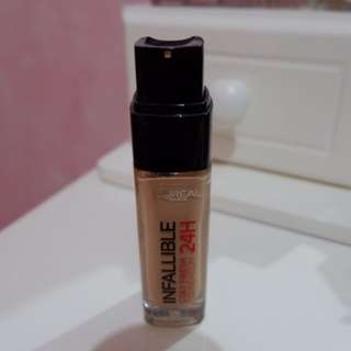 Loreal Infallible 24hours Matte Foundation
