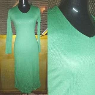 Bodycon Ribbed Dress
