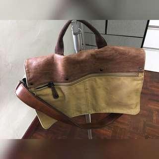 Original Fossil Vintage Slant Bag