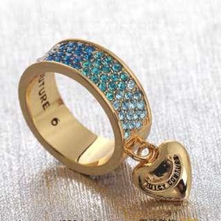 Juicy Couture 藍色碎石戒指(Ring)