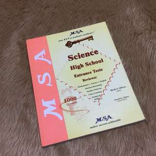 MSA Science High School Reviewer