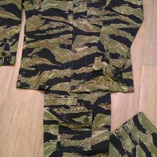 越戰款虎紋戰鬥軍服