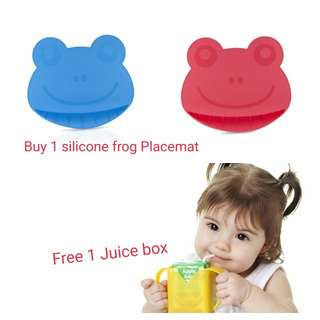 NUBY FROG SILICONE PLACEMAT