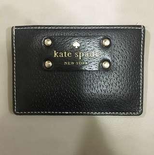 Kate spade black card holder