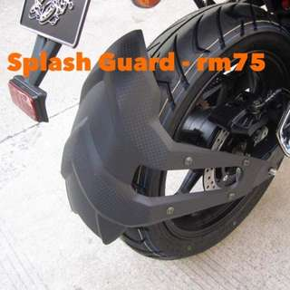 Arrow Splash Guard Universal Motorcycles