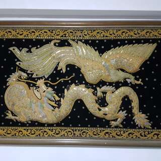 Dragon & Phoenix Burmese Antique