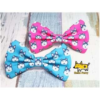 Husky , Malamute Handmade , Dog Cat Bowties Bow tie , Clothing , Accessories , Pet Collars , Bandana,