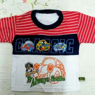"Baby boy casual T Shirt ""Classic"""
