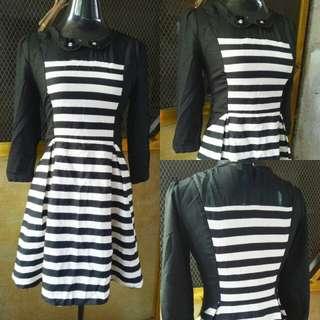 Strioed Dress (Very Nice!)
