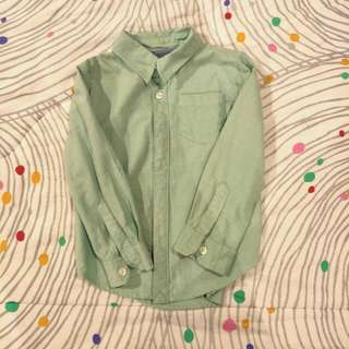 Cotton On Boy's Long Sleeve Shirt