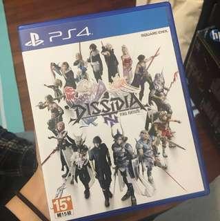 Dissidia Final Fantasy NT 繁中