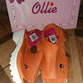 Ollie orange/white heels size:11,13,1