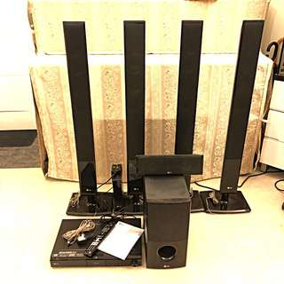 LG Blu-ray Disc Wireless Home Theatre System